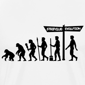 Evolution - Stag Night T-Shirts - Men's Premium T-Shirt