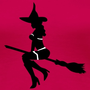 sexy witch T-Shirts - Frauen Premium T-Shirt