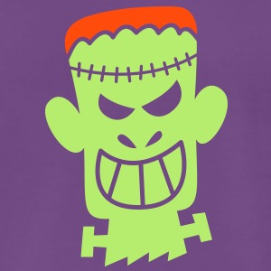 Naughty Halloween Frankenstein T-Shirts - Men's Premium T-Shirt