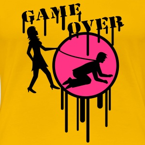 game_over_graffiti_stamp T-Shirts - Women's Premium T-Shirt