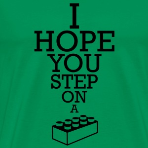 Blocko - Step on it T-shirts - Premium-T-shirt herr