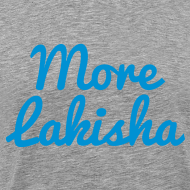Design ~ More Lakisha t-shirt blue/grey