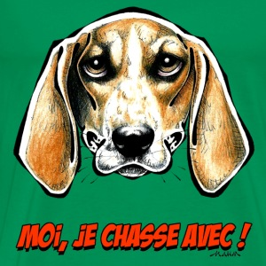 ANGLO FRANCAIS Moi, Je Chasse Avec ! Tee shirts - T-shirt Premium Homme
