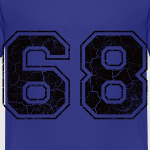 Number 68 in the grunge look Shirts - Kids' Premium T-Shirt