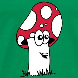 happy mushroom 3c T-Shirts - Men's Premium T-Shirt