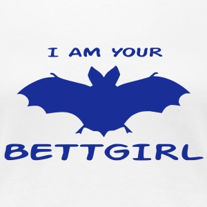 I am Bettgirl T-Shirts - Frauen Premium T-Shirt