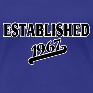 Established 1967 T-shirts - Vrouwen Premium T-shirt