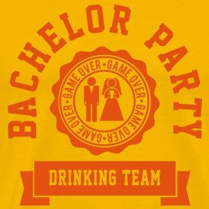 Bachelor Party Drinking Team T-shirts - Premium-T-shirt herr