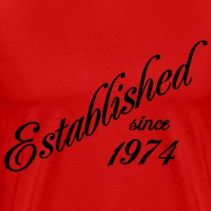 Established since 1974 T-shirt - Maglietta Premium da uomo