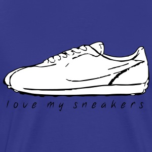 love my sneakers 01 ★ SpiritSpread T-Shirts - Men's Premium T-Shirt