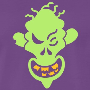 Naughty Halloween Zombie T-Shirts - Men's Premium T-Shirt