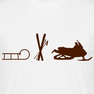 Ski Evolution T-shirts - Herre-T-shirt