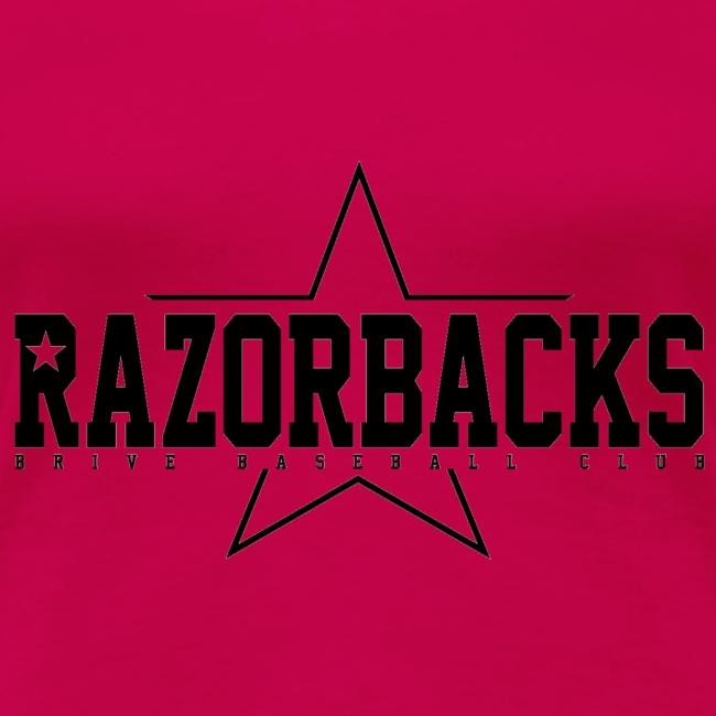 TS Razorbacks femme impression black