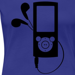 MP3 Player Camisetas - Camiseta premium mujer