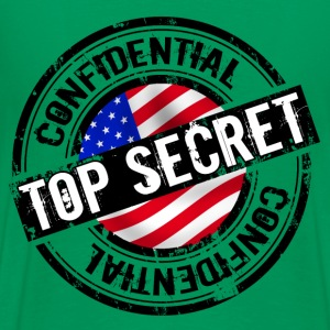 top secret Camisetas - Camiseta premium hombre