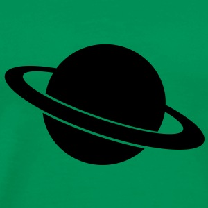 planet saturn - Men's Premium T-Shirt