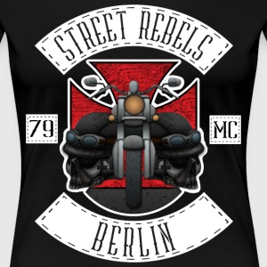 Street Rebels Berlin MC Rockerkutte by Individual  - Frauen Premium T-Shirt