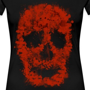 Splatter Slull (red Blood) - Frauen Premium T-Shirt