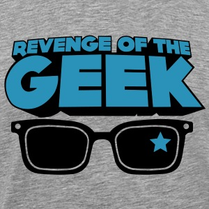 Revenge of the Geek Tee shirts - T-shirt Premium Homme