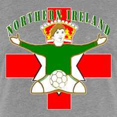 northern ireland football celebration design T-Shirts
