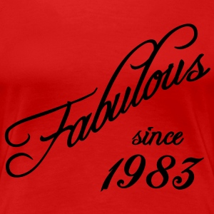 Fabulous since 1983 T-Shirts - Frauen Premium T-Shirt