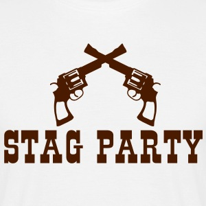 stag party western T-Shirts - Men's T-Shirt