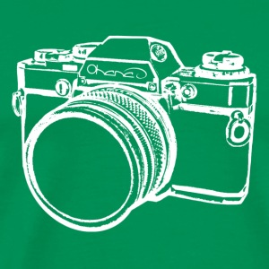 Camera (White) - Men's Premium T-Shirt
