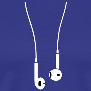 New Phone 5 earphones T-Shirts - Men's Premium T-Shirt
