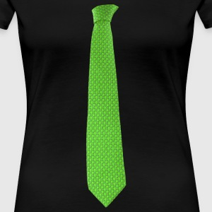 Green Tie T-Shirts - Frauen Premium T-Shirt