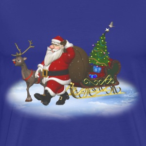 Santa is coming - Männer Premium T-Shirt
