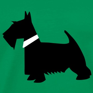 black scottish terrier T-Shirts - Männer Premium T-Shirt