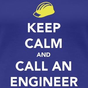 Keep Calm Engineer T-shirts - Premium-T-shirt dam