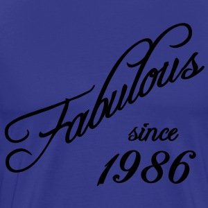 Fabulous since 1986 T-Shirts - Men's Premium T-Shirt
