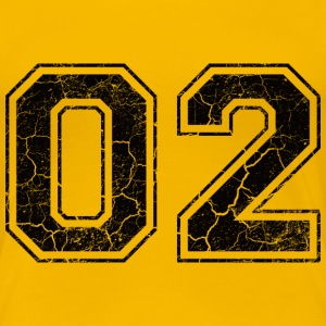 Number 02 in the grunge look T-Shirts - Women's Premium T-Shirt