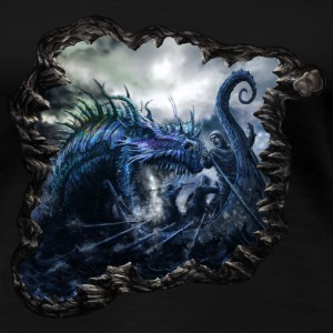 Sea Serpent Girlie - Frauen Premium T-Shirt