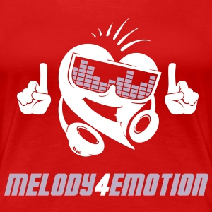 Melody4emotion T-Shirts - Frauen Premium T-Shirt