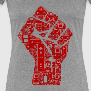 Gamer revolution - Dame premium T-shirt