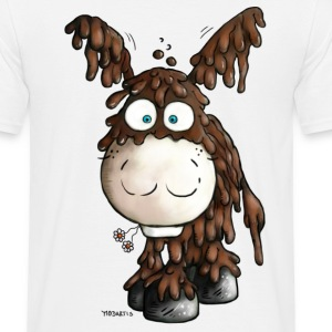 Poitou donkey- Cartoon t-shirt design T-Shirts - Men's T-Shirt