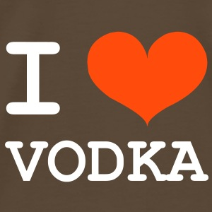 I Love Vodka ! T-skjorter - Premium T-skjorte for menn