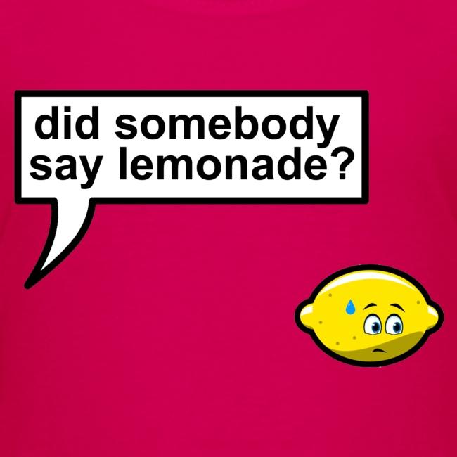 When life gives you lemons (kids)