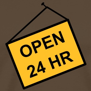 open for 24 hours - Men's Premium T-Shirt