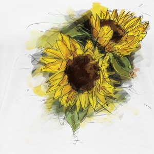 sunflower T-Shirts - Women's Premium T-Shirt