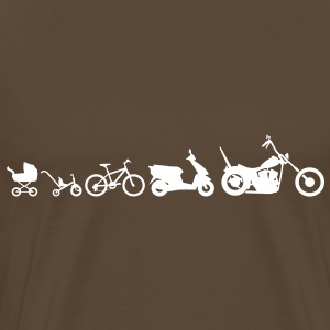 Chopper Evolution Moto  Tee shirts - T-shirt Premium Homme