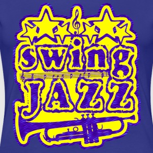 swing jazz T-Shirts - Women's Premium T-Shirt