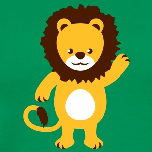 cute_lion T-shirts - Mannen Premium T-shirt