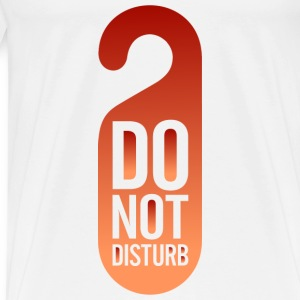Do Not Disturb (dd)++ T-skjorter - Premium T-skjorte for menn