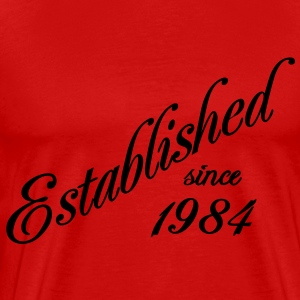 Established since 1984 T-Shirts - Männer Premium T-Shirt