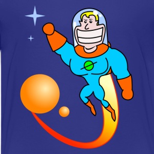 Space Hero Barneskjorter - Premium T-skjorte for tenåringer