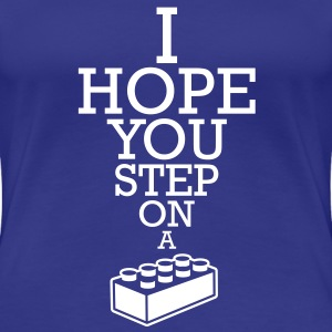 Blocko - Step on it T-shirts - Premium-T-shirt dam