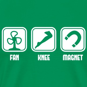 Fan Knee Magnet - fanny magnet T-shirt - Men's Premium T-Shirt